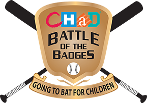 CHaD Baseball Battle of the Badges Logo