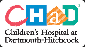 CHaD Logo Children's Hospital at Dartmouth-Hitchcock